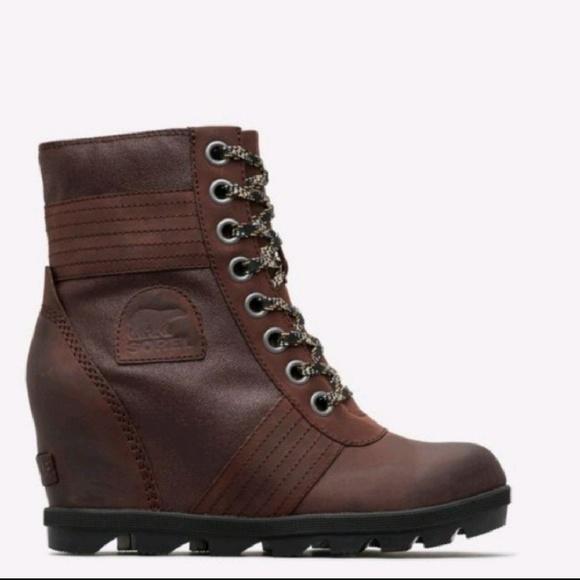 0752e4169d01f Sorel Shoes | Nib Womens Lexie Boots In Cattail Size 5 | Poshmark